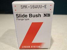 Nippon Bearing NB Linear Slide Bush Flange Bearing SMK-16WUU-E * NEW *