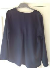 Marks and Spencer Black top long sleeve top Size 14