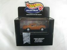 Hot Wheels 1999 Cool Collectibles 1969 Buick Riviera Lowrider Mint In Box