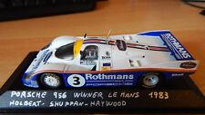 Porsche 956 #3 Winner Le Mans 24h 1983 Quartzo LM 1/43 tobacco