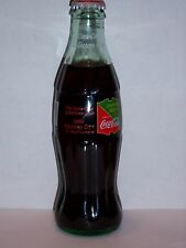 8 OZ COCA COLA COMMEMORATIVE BOTTLE - 1995 CCCC KANSAS CITY