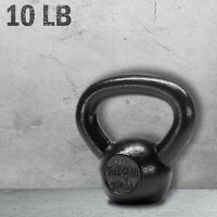 Kettlebell Weight 10 lbs Heavy Duty Exercise Weights Workout Home Gym Training