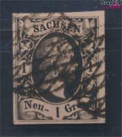 Sachsen 4I Pracht gestempelt 1851 Friedrich August (8162004