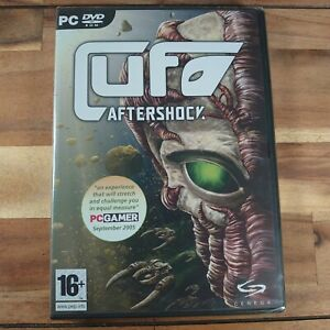 NEW UFO Aftershock PC CD ROM GAMES