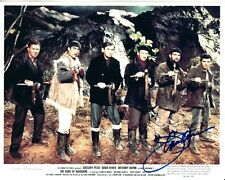 JAMES DARREN signed THE GUNS OF NAVARONE 8x10 w/ coa GREGORY PECK WWII FILM CAST