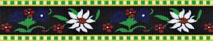 Country Brook Design® Edelweiss Grosgrain Ribbon