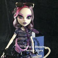 Mattel 2012 Monster High Catrine DeMew Scaris Doll RARE! Stand Diary Purse Lot
