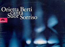 ORIETTA BERTI disco LP 33 giri MADE in ITALY Canta Suor Sorriso  GATEFOLD