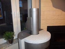 Limpiador de hornos de chimenea Gris,Ventilador de extracción de humos,