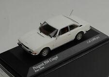 Peugeot 504 Coupe 1976 white Minichamps 1:43