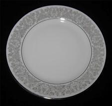 Rosenthal VENETIAN 3152 Dinner Plate, Gray Leaves, Flowers