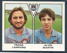PANINI FOOTBALL 80- #507-WEST HAM UNITED-FRANK LAMPARD / ALVIN MARTIN (ROOKIE)