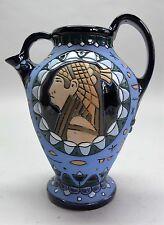 Rare ART NOUVEAU AMPHORA Art Pottery Pitcher   c. 1920
