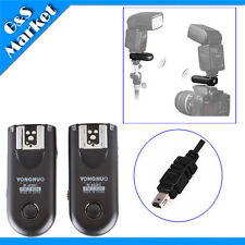 Yongnuo RF-603 II N3 Flash Trigger for Nikon D7000 D3100 D90  D5100 D5000