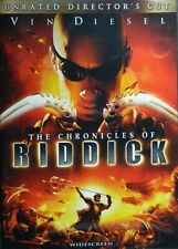 The Chronicles of Riddick (2004) Unrated Director's Cut Vin Diesel Karl Urban