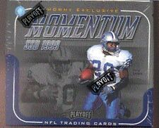 1999 Playoff Momentum SSD NFL Football Hobby Box
