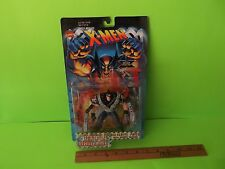 "X-Men Battle Brigade Wolverine Patch 5""in Figure w/Total Assault Arsenal 1996"