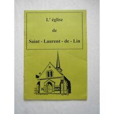 L'EGLISE de Saint-Laurent-de-Lin (Indre et Loire)