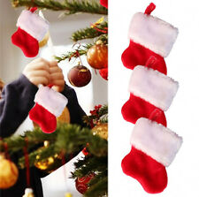 Rojo Papá Noel Para Colgar Del Árbol Candy Calcetín Mochila Calcetín Navidad