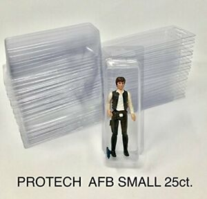 """Star Wars Action Figure Blister Small for 3.75"""" Inch Figures Lot of 25"""