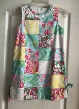 Lilly Pulitzer Girl's Dress Size 10 Shift Patchwork