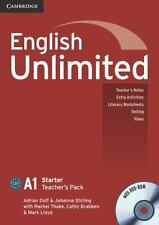 English Unlimited Pack by Adrian Doff (2010, Paperback / Mixed Media,...