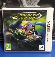 Ben 10: Galactic Racing PAL 3DS New / Sealed