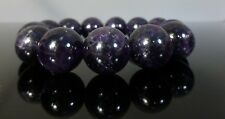 Chunky Purple Amethyst Bracelet Natural Precious Stone AAA Grade