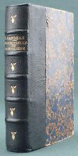 SANDEAU - MADEMOISELLE DE LA SEIGLIERE - PETITE BIBLIOTHEQUE CHARPENTIER 1882