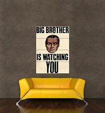 POSTER PRINT VINTAGE MOVIE 1984 ORWELL BIG BROTHER WAR PEACE SLAVERY SEB328