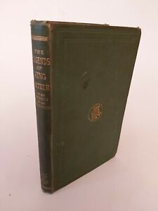 vintage antique 1868 Legends of King Arthur Knights of the Round Table Old Book