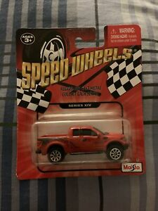Maisto Series XIV Ford F-150 SVT Raptor Rugged Diecast Metal Truck Red