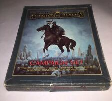 AD&D Forgotten Realms Campaign Set Box Incomplete DM's Sourcebook & Cyclopedia