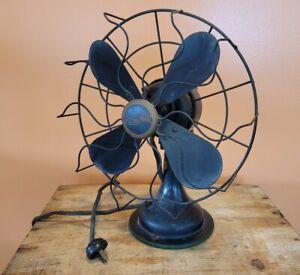 "RARE Vintage Tools RETRO 1940s WESTINGHOUSE Antique Oscillating Fan 10"" ☆USA"