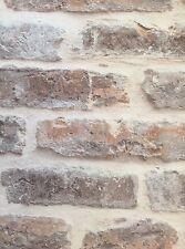 Vinyl Natural 3D Effect Embossed Stone Brick Textured Slate Wallpaper Roll