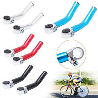 2pcs Bicycle MTB BMX Mountain Bike Lock-on Alloy Handlebar Grips Handle Bar Ends