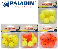 gelb oder rot Auftriebskörper 6 Stück 12 Pilotkugeln rund 10 15 21mm 18