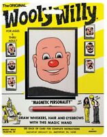 1974 Smethport Original Wooly Willy Classic Magnetic Drawing Toy Model No.32 GUC