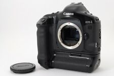 [MINT! 46 Roll] Canon EOS-1V HS 35mm SLR Film Camera w/PB-E2 from Japan #253