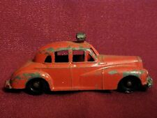 VINTAGE BUDGIE MODELS #27 METAL FIRE CHIEF CAR MADE IN ENGLAND
