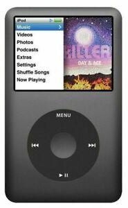 Apple iPod classic 5th, 6th, 7th (30GB, 60GB, 80GB, 120GB, 160GB, 256GB)