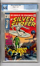 Silver Surfer #10 CGC 6.5 OWP '!...World... without...END'