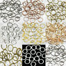 Lots Jump Rings Open Connectors Beads 4/5/6/7/8/10/12mm Jewelry DIY Finding