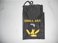 Shooters  shell Bag Hand gun and bullets, black bag