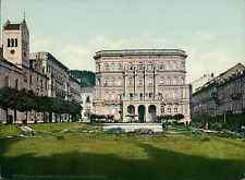 Böhmen. Marienbad. Franz Joseph-Platz. PZ vintage photochromie, photochrom pho