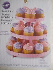 Wilton Treat Stand-Pink W0884 3 Tiers