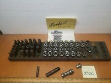 Herbert #0 Capstan/Turret Lathe Collets, Feed Collet, Bushings Round&hex1pc for$