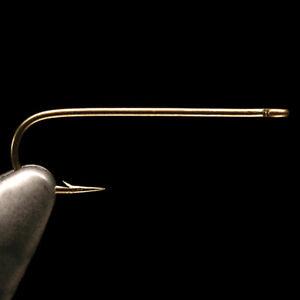 DAIICHI 2460 HOOK - Long Shank Bronze Aberdeen Fly Tying Hooks - 25 Pack NEW!