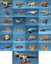 Kaiyodo Dinotales 1 Chocola Saurus Dinosaur Figure Complete Set of 24 + Secret