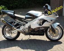 For Kawasaki ZX-9R 02 03 Ninja ZX9R 2002 2003 ZX 9R Silver Gray Plastic Fairings